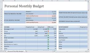 Monthly Budgets Spreadsheets Personal Monthly Budget Template Way More Useful Excel