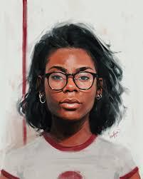 Digital Portrait Painting Awesome Digital Self Portrait By Alexis Franklin Portraitart