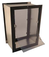American Dog Doors Liberator Wall Mount Dog Door single or dual flap ...
