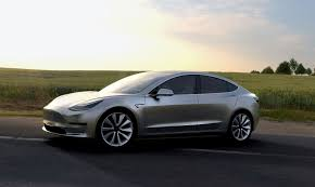 new tesla car release dateTesla unveils 35K Model 3 electric car for the masses with 215