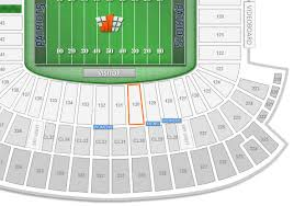 Gillette Seating Chart With Rows New England Patriots Gillette Stadium Seating Chart