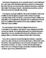 my present career narrative essay quot     how will mba help in my career essay