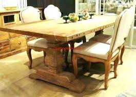 full size of salvaged wood weathered concrete beam round dining table trestle rectangular extension reviews barn