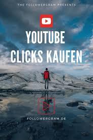 Youtube Klicks kaufen | Youtube, Instagram, Öffentlich