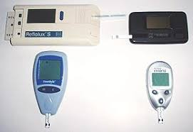 Blood Glucose Meter Compatibility With Lancets And Test Strips Chart Glucose Meter Wikipedia