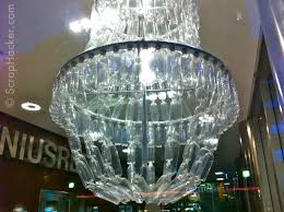 Genius In A Bottle The Amazing Plastic Bottle Chandelier
