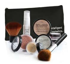 mineral make up foundation 7 teilig set