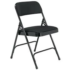 metal padded folding chairs padded folding chair w double hinge black white padded metal folding chairs