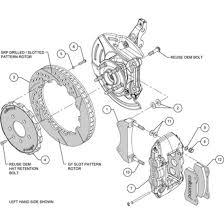 wilwood front big brake kit 10 15 camaro 140 11269 jdp motorsports 2010 Camaro 3.6 Cooling Sistem wilwood aero6 front slotted big brake kit 2010 2015 camaro v6 ss zl1 140 11269