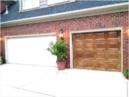 refinishing wood garage doors inspirational wood stained garage doors garage door refinishing faux finish wood