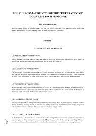 Research Proposal Template Apa Format Research Proposal Template