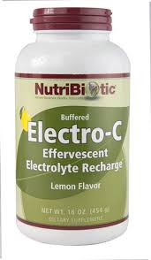 NutriBiotic Buffered <b>Electro</b>-<b>C Lemon</b> -- 16 oz - Vitacost