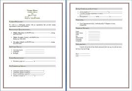 Free Resume Templates Word 2010 Publicassets Us