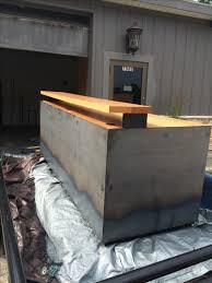 Rustic Desk Designs Custom Made Rustic Industrial Reception Desk Rustic Desk