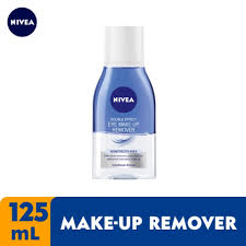 nivea face double eye makeup remover