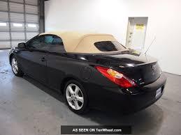 2006 Toyota Solara Se Convertible 2 - Door 3. 3l