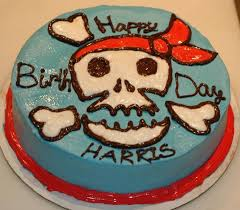 Pirate Party Birthday Cake Creative Party Blog