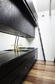 Black Marble Kitchen Countertops 10 Urbane Loft Kitchens Cabinets Plywood Cabinets And Countertops