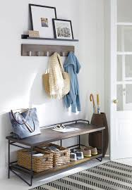 Crate And Barrel Wall Mounted Coat Rack Cool Refresh Your Small Space Entertaining BridalPulse