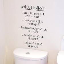 toilet wall art home wall art stickers amp quotes bathroom decal quote from toilet wall stickers on downstairs toilet wall art with toilet wall art square dining tables goodbennie