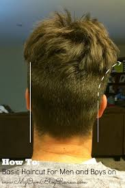 how to cut mens hair basic haircut for men and boys no beauty