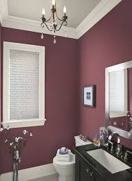 purple bathroom color ideas. Wonderful Ideas Red Bathroom Ideas  Poised PlumRed Paint Color Schemes Love  This Color Throughout Purple N