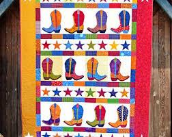 Boot-n-Skoot PDF Quilt Pattern Quilt Patterns PDF Pattern & Boot-n-Skoot Printed Quilt Pattern   Quilt Patterns   Cowboy Boot Quilt   Adamdwight.com