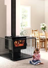 fireplace protector for es metro plus installed on an alloy um wall floor protector with a