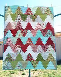 Zigzag Christmas Tree Quilt Pattern PDF Wander & 🔎zoom Adamdwight.com