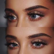 makeup for green blue eyes
