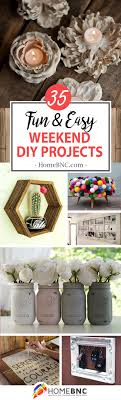 35 exciting weekend diy home decor projects for making your own trendy decor