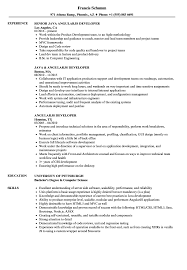 Angularjs Developer Resume Angularjs Developer Resume Samples Velvet Jobs 1