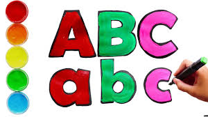 Popular abc coloring of good quality and at affordable prices you can buy on aliexpress. Coloring And Drawing English Litters With Kids Songs Phonics Abc Song Colors Dream Kids Tv Youtube