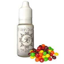 more views clic rainbow chewy candy skittles candy vape flavor
