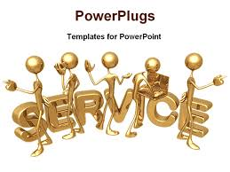 Excellent Customer Service PowerPoint         Free PowerPoint     Company Profile PowerPoint Presentation