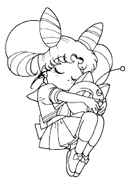 Sailor Moon Coloring Pages Antiatominfo