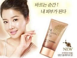 korean welcos bb no makeup face blemish balm spf 30 pa whitening cream