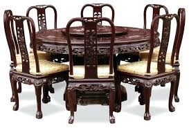 rosewood dining room table rosewood queen pearl inlay motif round dining table with 8 chairs indian
