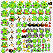 Angry Birds Space Angry Birds Star Wars Angry Birds Friends Angry Birds 2,  Fat Pig s, smiley, flower png