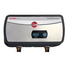 rheem 82v52 2. rheem rtex04 3.5kw 0.5 gpm bot 1/2 npt con. electric tankless water 82v52 2