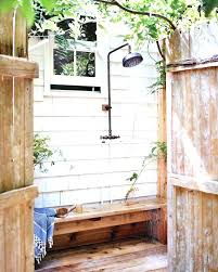 outside shower head pool best outdoor showers ideas on swimming hol