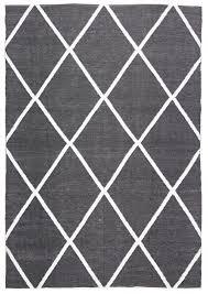 black and white diamond rug. coastal indoor outdoor rug diamond black white - floorsome and