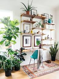 home office wall shelving. Plants + A Cool Gallery Wall Liven Up An Office Space #UOonCampus #UOContest. Diy ShelvesOffice ShelvingHome Home Shelving V