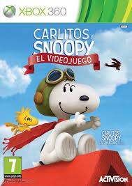 Carlitos y Snoopy El Videojuego RGH Xbox 360 Español Mega Xbox Ps3 Pc Xbox360 Wii Nintendo Mac Linux