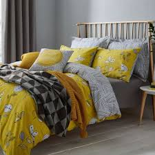 bed cover sets. Amazing Elements Sunflower Yellow Reversible Duvet Cover And Pillowcase Bed Sets Decor I
