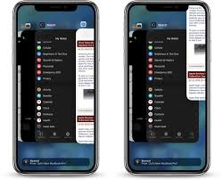 how to close apps on iphone x xr xs and xs max in ios 12
