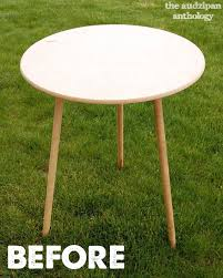 46 beautiful round particle board decorator table