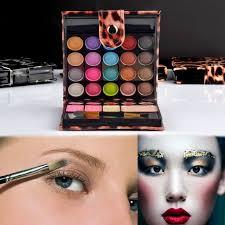 Ecvtop Professional Makeup Kit <b>Eyeshadow Palette</b> Lip Gloss Blush ...