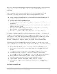 Examples Of Performance Review Employee Performance Review Examples Feedback For An
