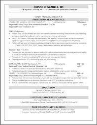 Icu Nurse Resume Examples 16 Sample Experienced Registered